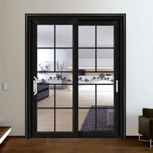 black color aluminium glass air tight seal doors in sri lanka