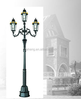 4M Outdoor Decorative Garden Lighting Pole Light