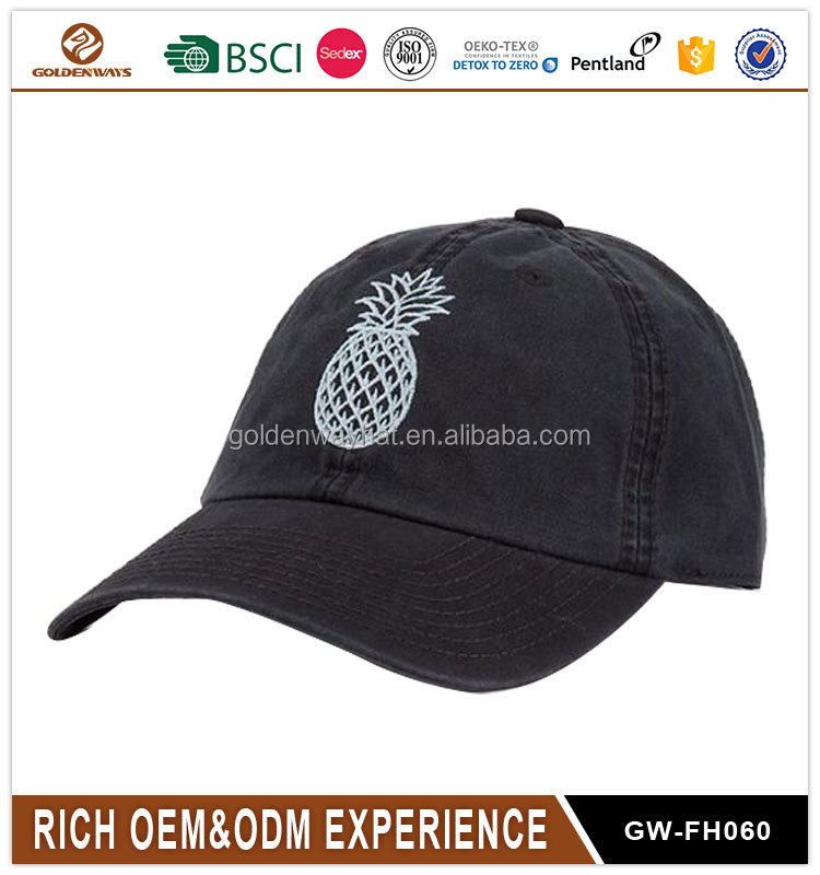 Wholesale <strong>Custom</strong> Embroidered 3D Logo Baseball Cap high quality dad hat