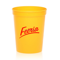 Colorful 16 OZ Customized Stadium Plastic cup supplier