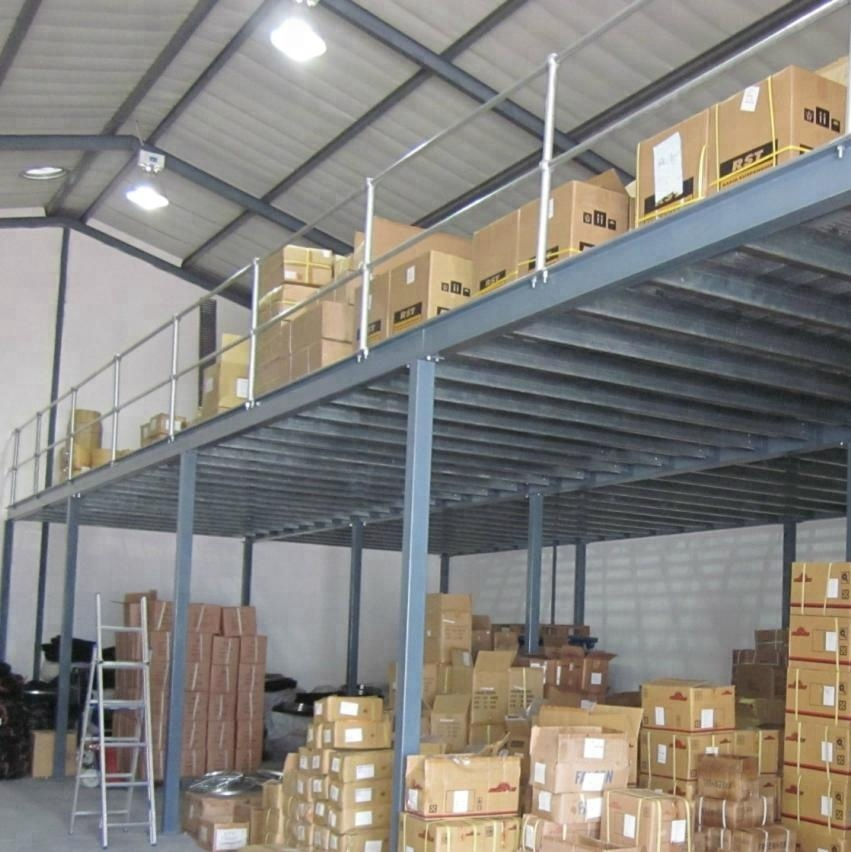 Multi-tier Rack Supported Mezzanine Steel Structure