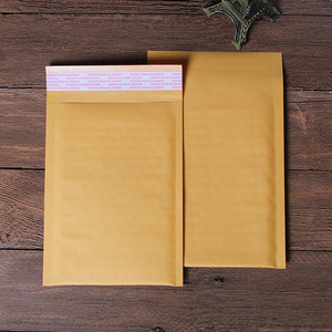 Custom wholesale kraft paper shockproof padded envelopes