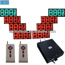 Made in china 3G wireless IP65 waterproof led gas price changer display