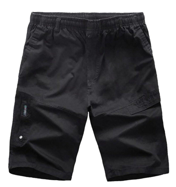 UUYUK Men Slim 2 Pcs Outfits Gym Workout Slub Cotton Running Trainning Tracksuits