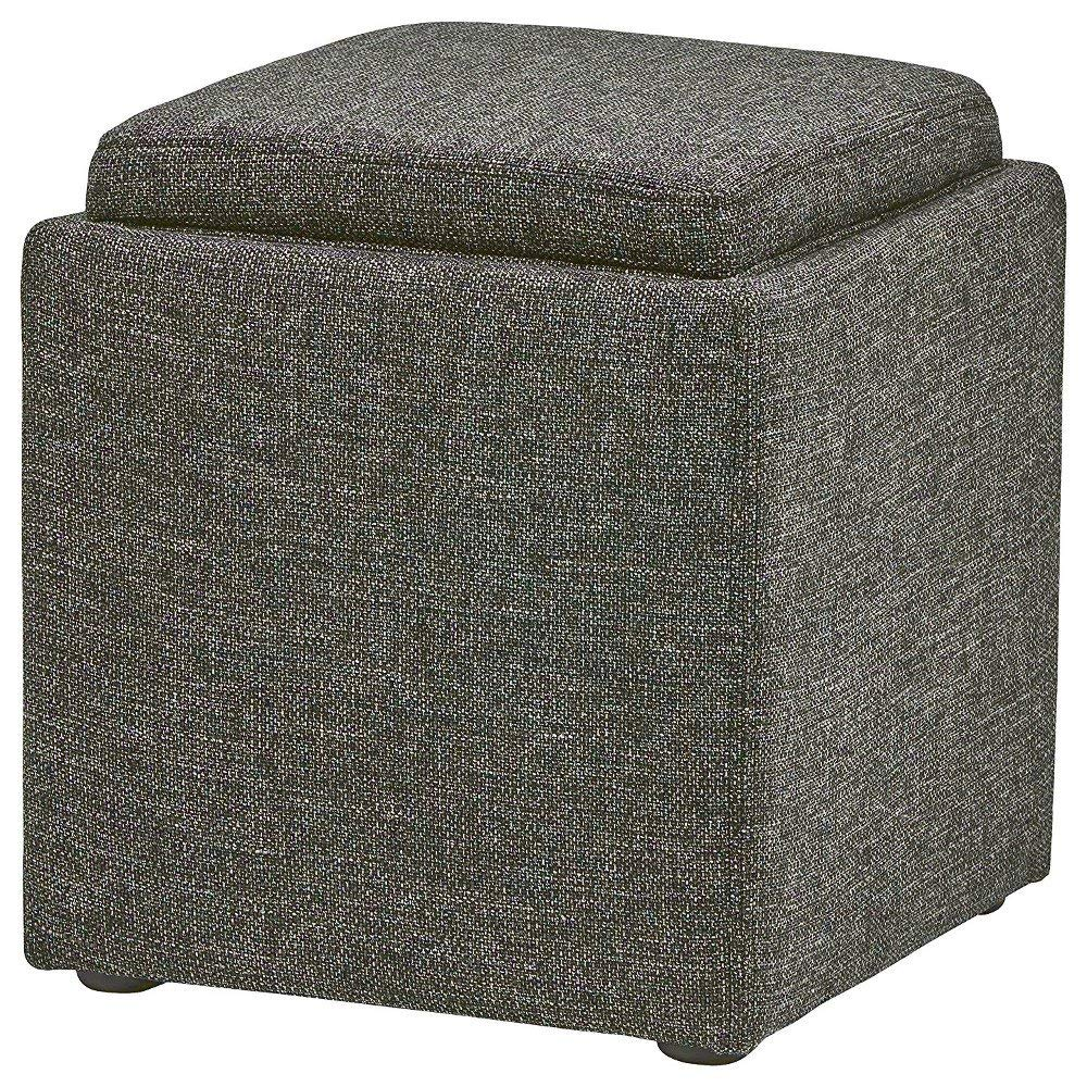 Surprising Buy Garrett Double Storage Ottoman With Tray Amp Side Gmtry Best Dining Table And Chair Ideas Images Gmtryco