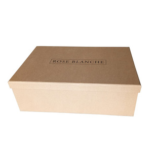 Recyclable Cardboard Shoe Box With Lid for hot selling ,Shoe Box Packaging
