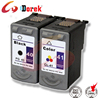 remanufactured for Canon printer Pixma MP198, ink cartridge PG40 CL41