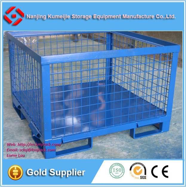 Collapsible Pallet Steel Crate Wire Mesh Box - Buy Wire Mesh Box ...
