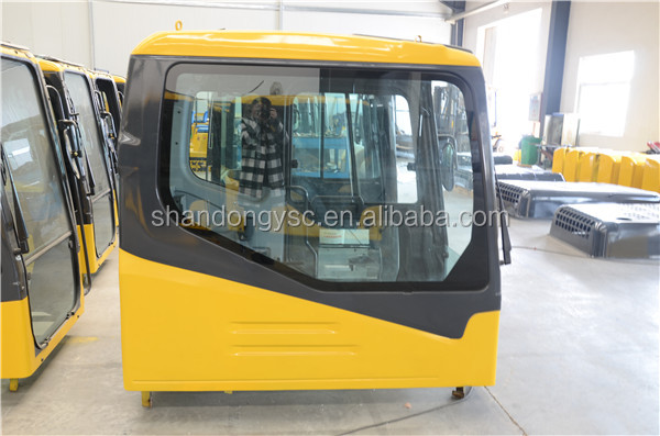hot sale excavator spare parts operate cabin, PC56-7, PC70-8, PC110-7,PC130-7,PC160-7 cab for excavator
