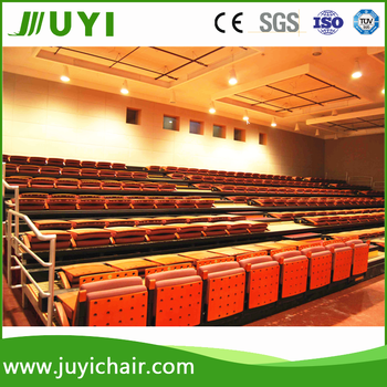 Metal Padded Folding Chairs jy-780 factory price metal folding chair pads indoor gym bleachers