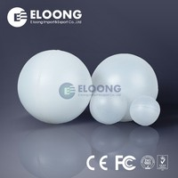 High Quality PP Hollow Hard Plastic Floating Ball For Acid Storage Tank