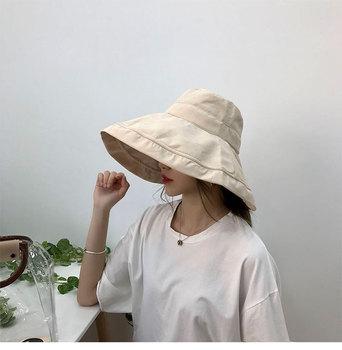 7df2070ec20 Outdoor Sun Protection Wide Brim Bucket Hat Waterproof Packable Boonie Hat  Fisherman Hat for Safari Fishing