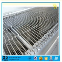 LFGB certification stainless steel conveyor flat weave wire mesh belt stainless steel wire mesh conveyor belt