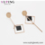 Earring-164 Xuping latest design jewellery stainless steel rose gold color plated drop earrings