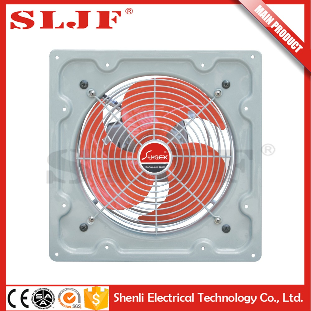 "10""/12"" zhejiang metal cover wall mounted exhaust fan blower image for ventialtion and sunstroke prevention"