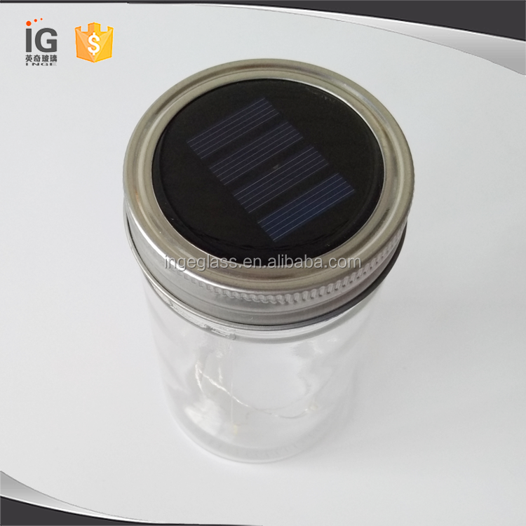 Solar Lid Light Wholesale Part - 28: Wholesale Glass Mason Jar Solar Lid Light For Home Decor