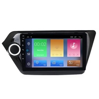 "MEKEDE 9"" Android 9.1 2+32g 4core android car dvd player for Kia k2 RIO 2010-2015 wifi video GPS navigation car radio audio"