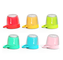 2018 Multicolor wireless mini speaker portable music speaker 3W