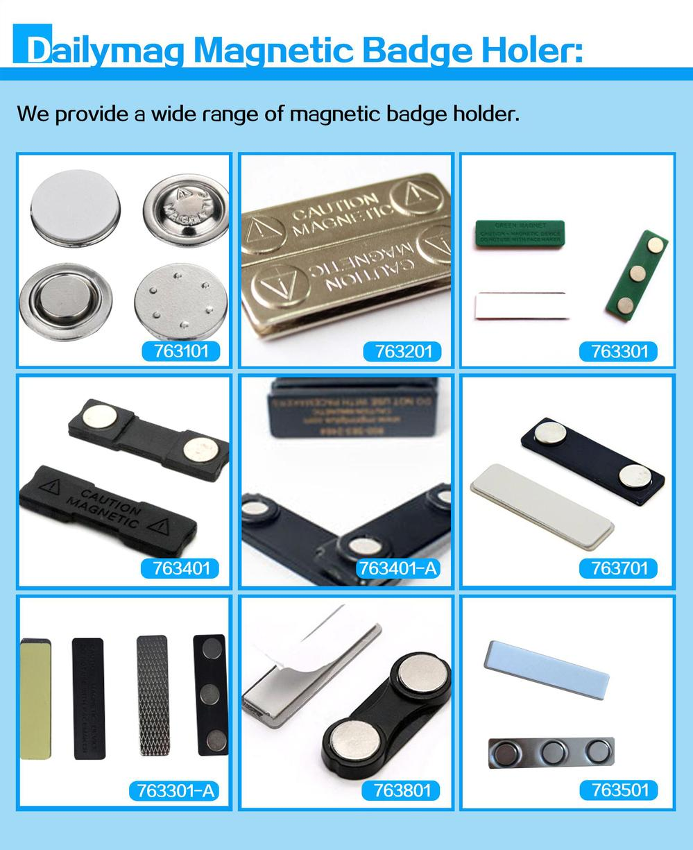 Best sale item 2017 extra strong ndfeb block/disc tin magnetic badge sale