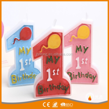 Big Birthday Party Number Character Candles Boys And Girls