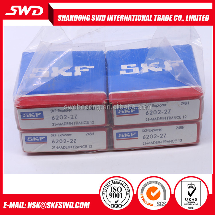 15x35x11 mm made in France Original SKF Ball Bearing 6202