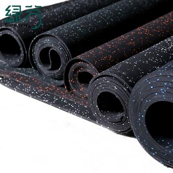 Indoor Gym Rubber Flooring Roll Mat