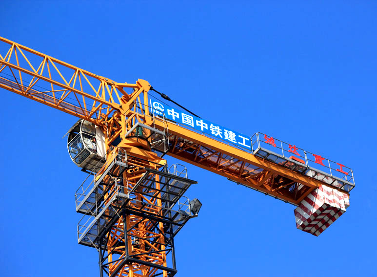 Hongda 6T topless tower crane with CE certificate tower crane