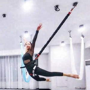Professional Heavy Bungee Cord Jump For Home Gym Yoga Bungee 4D Training Pro Tool Bungee Exercise