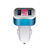 Led light dual 2.4a usb car charger splitter with usb port car cell phone charger with usb port car charger