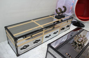 Stainless steel TV stand,high quality TV cabinet