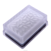 NK-160 decorated solar led glass brick ie Super capacitor 6PCS Led Quantity solar brick light for decoration ie road stud