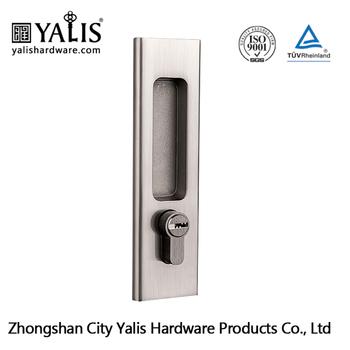 Zinc Keyed Sliding Glass Door Lock Buy Sliding Mirror Door Handles