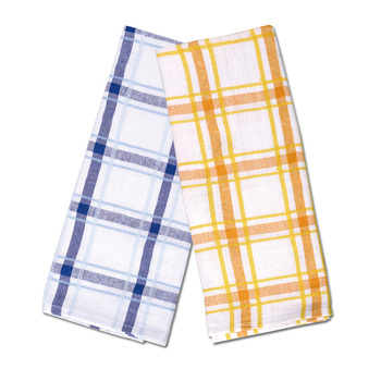 Kitchen Cotton Tartan Tea Towels, Kitchen Dish Cloth