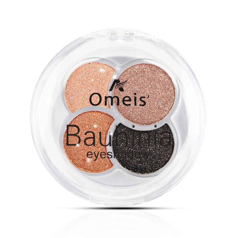 Qiao Yan colorful 4 color diamond eye shadow