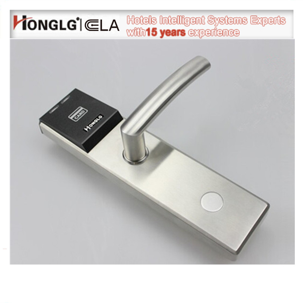 Hotel Wifi Z wave Door Lock with Electronic rfid Card