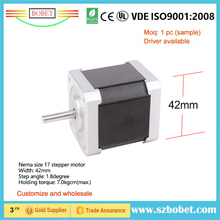 Big stepper motor factory made wholesale cheap industry grade 42mm NEMA size 17 stepping motor