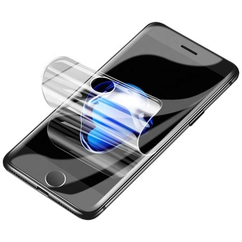 Bulk Buy customized ultra thin 0.33mm TPU hydrogel screen protector for iphone 7 8 x xr