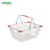 wire metal small shopping basket