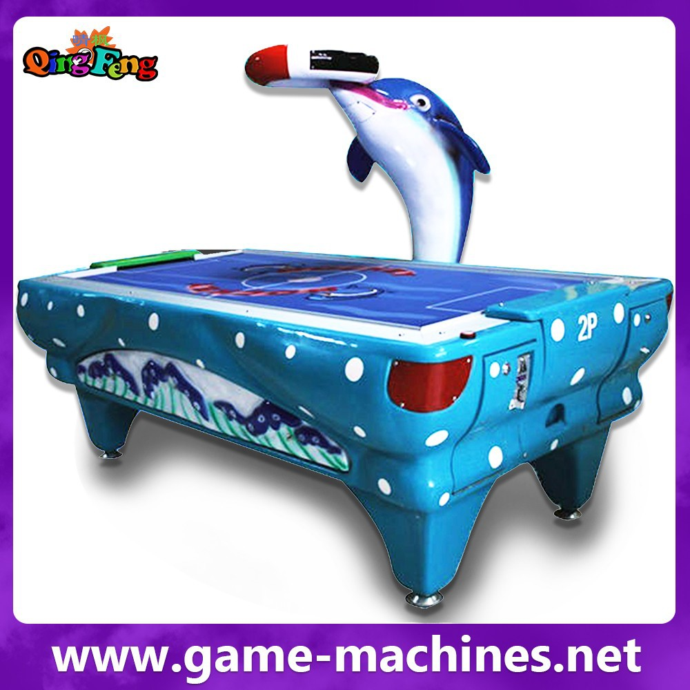 Qingfeng full size tournament choice small air hockey table with electronic scorer buy small - Tournament air hockey table ...