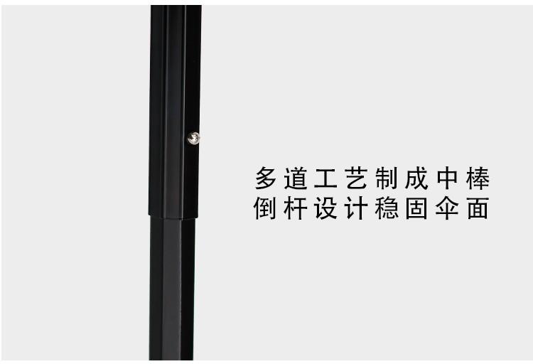2017 New Korean style blue cherry tree brand black coating UV three folding  Sunny   Rain parasol umbrella rain women - us219 5385cbc6676