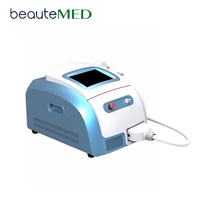 4 in 1 water + air + semiconductor + display cooling system pain free portable diode laser hair removal machine