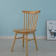 Modern solid beech design dining cafe restaurant side windsor chair wood chair
