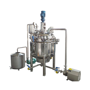 Stainless steel automatic continuous stirred tank chemical reactor reaction kettle system machine equipment
