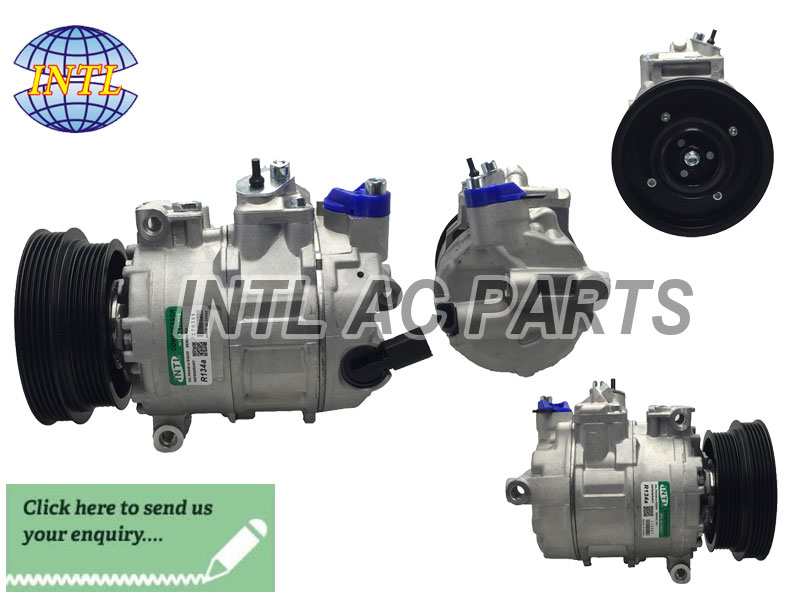 PV5 -127&130mm1K0820808B FOR VWJetta V/Audi air conditioning Sanden PXE16 AC compressor