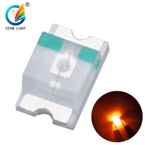 Low price SMD 0603 led yellow/ orange/ amber led diode light 605nm