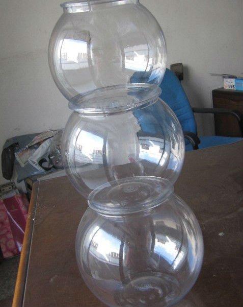 Di plastica trasparente boccia di pesci ciotola dell for Boccia pesci