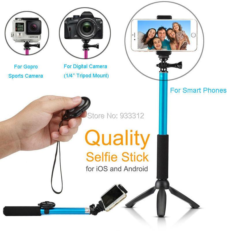 Yunteng Tripod Selfie Stick Bluetooth Camera Remote