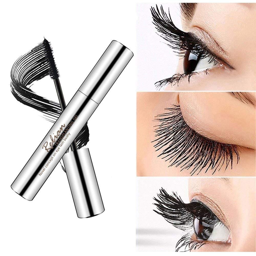 2769cb3d727 Get Quotations · KOBWA 4D Mascara Cream, 4D Silk Fiber Lash Mascara  Extension Set, Makeup Lash Waterproof