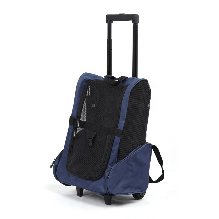 Airline Goedgekeurd Portable Expandable Koffer Trolley Pet Carrier Voor Reizen