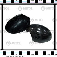 For BMW Mini Cooper 07- Powerfold Carbon Fiber Car Mirror Housing